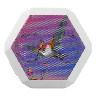 Rufous hummingbird - 3D render White Bluetooth Speaker