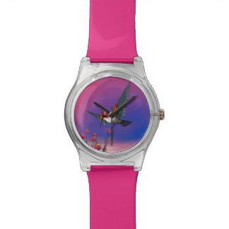 Rufous hummingbird - 3D render Wrist Watch