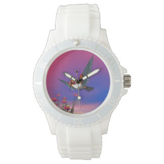 Rufous hummingbird - 3D render Wristwatch