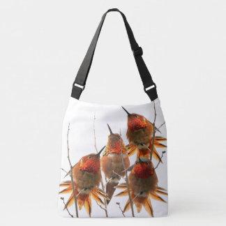 Rufous Hummingbird Birds Wildlife Animal Tote Bag