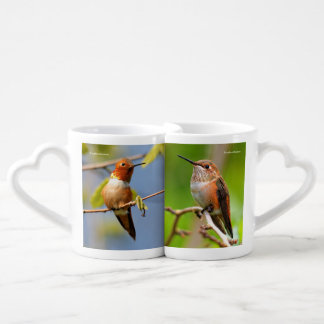 Rufous Hummingbirds Coffee Mug Set