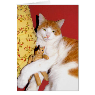 """Rufus"" Greeting Card"