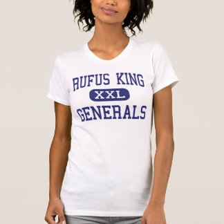 Rufus King - Generals - High - Milwaukee Wisconsin T-Shirt