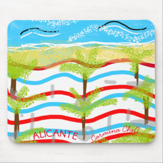 Rug Alicante mouse Mouse Pad