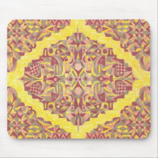 rug design 1 mouse pad
