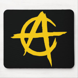 Rug for Mouse Logo Libertarian Ancap - M1 Mouse Pad