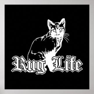 Rug Life - Gangsta Cat Poster
