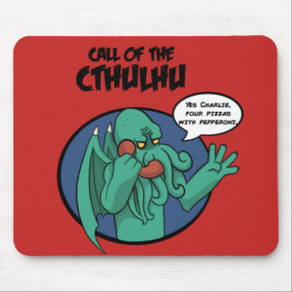 Rug of cthulhu mouse pad