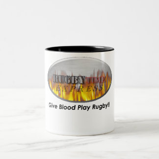 RUGBY1 Two-Tone COFFEE MUG