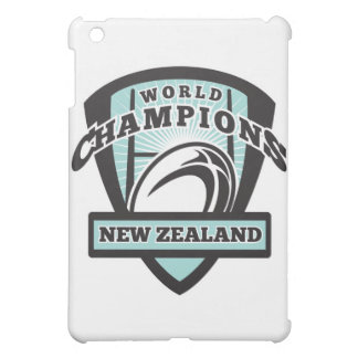 Rugby ball New Zealand World Champions iPad Mini Cover