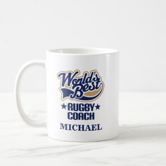 Rugby Coach Personalized Mug Gift