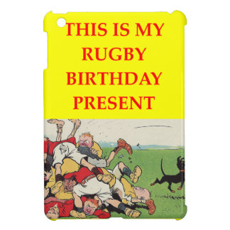 RUGBY COVER FOR THE iPad MINI