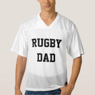 Rugby Dad Men's Football Jersey