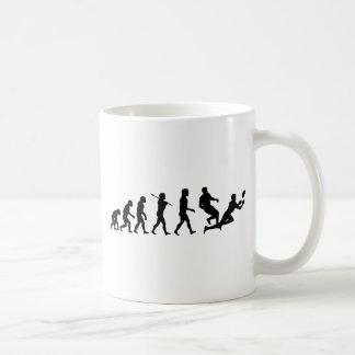 Rugby Evolution Fun Sports Classic White Coffee Mug