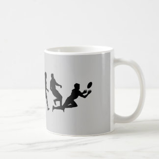Rugby Evolution Fun Sports Coffee Mug