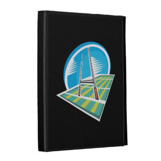 Rugby Field iPad Folio Cover
