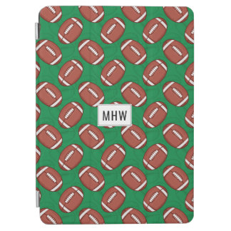 Rugby / Football custom monogram device cases iPad Air Cover