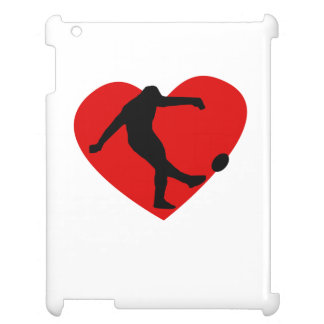 Rugby Heart iPad Case