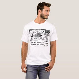 Rugby is a man's game - Funny Tshirt