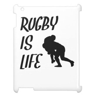 Rugby Is Life iPad Case