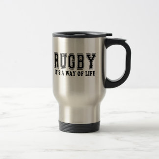 Rugby It's way of life Travel Mug