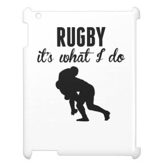Rugby It's What I Do Case For The iPad 2 3 4