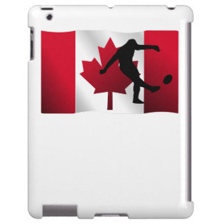 Rugby Kick Canadian Flag