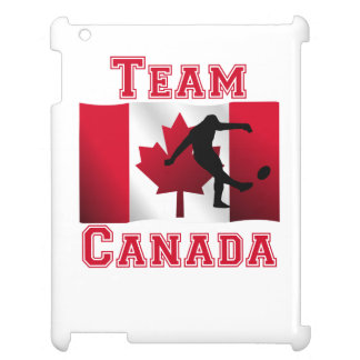 Rugby Kick Canadian Flag Team Canada iPad Covers