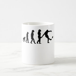Rugby Kick Evolution Coffee Mug