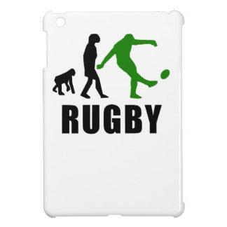 Rugby Kick Evolution (Green) iPad Mini Covers