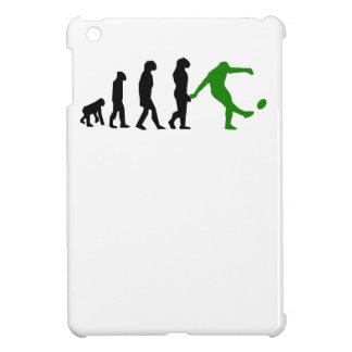 Rugby Kick Evolution (Green) iPad Mini Cover