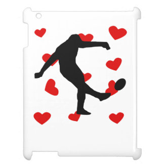 Rugby Kick Hearts Cover For The iPad 2 3 4