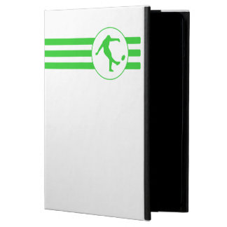 Rugby Kick Stripes (Green) iPad Air Cover