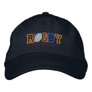 Rugby Kid Embroidered Hats