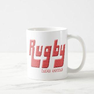 Rugby life style coffee mug