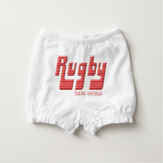 Rugby life style diaper cover
