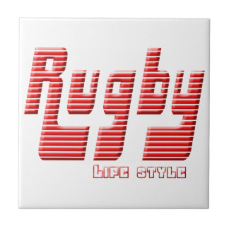 Rugby life style tile