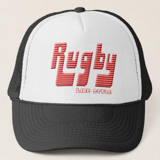 Rugby life style trucker hat