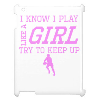 Rugby Like A Girl Case For The iPad 2 3 4