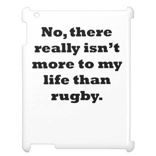 Rugby My Life Cover For The iPad 2 3 4
