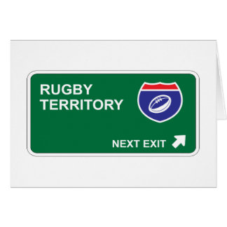 Rugby Next Exit Card