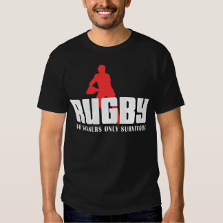 Rugby No Winners Only Survivors Shirt