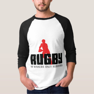 Rugby No Winners Only Survivors T-Shirt