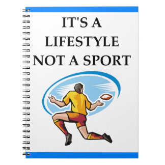 rugby notebook