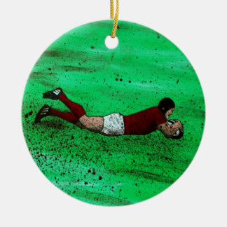 Rugby ornament