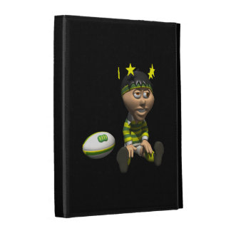 Rugby Player 3 iPad Folio Covers