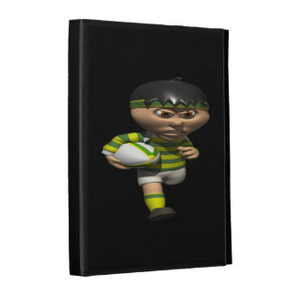 Rugby Player iPad Folio Case