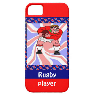Rugby player case for the iPhone 5