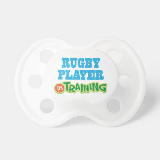 Rugby Player In Training (Future) Pacifiers