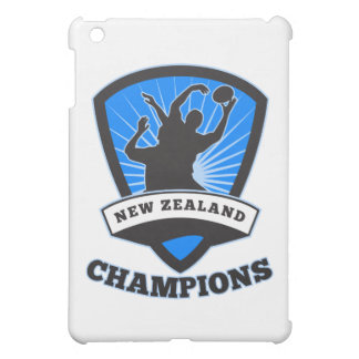 Rugby Player New Zealand Champions iPad Mini Cover